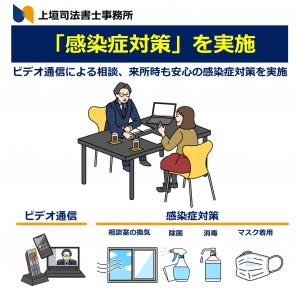 明石市 上垣司法書士事務所ではビデオ通話、オンラインチャットによる問合せに対応